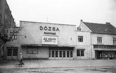 Ilyen is volt Budapest - évek, Róbert Károly körút, a Dózsa mozi Retro 13, Budapest Hungary, Vintage Ads, Arch, Urban, History, Building, Outdoor Decor, Travel