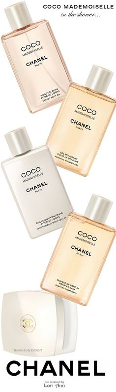 Chanel Coco Mademoiselle - Body Oil, Shower Gel, Body Lotion, Foam Bath, Body Exfoliant