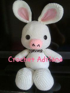 Amigurumi Pig Rabbit : Cerdo Conejo - Peluche de 30cm tejido en crochet - Lussi ...