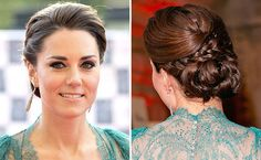 Get The Look: Kate Middleton's Braided Updo   | StyleCaster