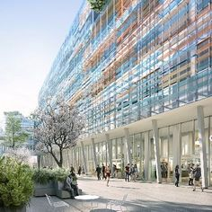 Union Investment acquired the speculative Grand Central development project at Saint-Lazare railway station in the centre of Paris from The Carlyle Group. The innovative project comprises a new business centre on Rue de Londres and Rue dAmsterdam with rental space of around 23600m. The target for practical completion is mid-2019.