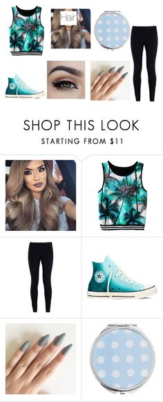 """blue"" by katniss-everdeen-578 ❤ liked on Polyvore featuring NIKE, Converse and Miss Selfridge"