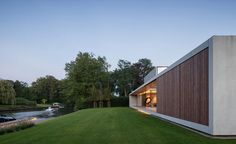 Residence VDB by Govaert & Vanhoutte Architects | Daily Icon