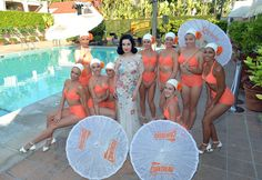 Dita Von Teese at Cointreau Poolside Soiree at the Beverly Hills Hotel