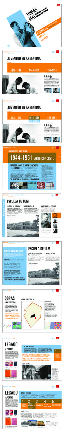 A journey through Tomás Maldonado career as an important design theoric.