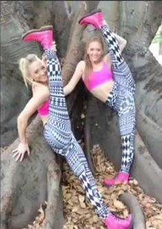"sam and teagan rybka ""the rybka twins""  gymnastics"