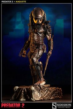 "\"" \r\n \r\n Joining Sideshow\\\'s tremendously popular line of Predator film collectibles is the Predator 2 Maquette, Predator Cosplay, Alien Vs Predator, Spawn, Aliens, Statues, D Mark, Horror Pictures, Sideshow Collectibles, Comics"