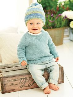 King Cole Baby Book 7 - #708803 ~ 33 designs in total ~ sizes range from NB to 7 yrs. ~ take your pick - all adorable1 ~ KNIT