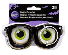 Wilton 2308-0888 Eyeglasses/Eyeball Cutter Set -- Don't get left behind, see this great product offer  : Baking Accessories