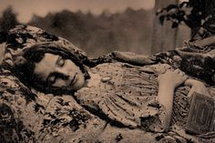 """Beyond the Dark Veil: Post Mortem and Mourning Photography"" in Begovich Gallery. Photo courtesy Thanatos Archive"