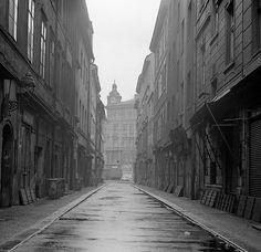 V Kotcích Praha, únor 1965 School Photography, Old Pictures, Czech Republic, Historical Photos, Black And White, Life, Retro, Collection, Prague