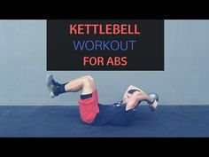 This powerful kettlebell ab workout will destroy your core. All you will need is a kettlebell and a place to lay down. Give this kettlebell workout a try!