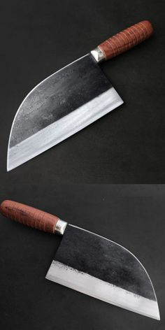knife making essential tools Cool Knives, Knives And Swords, Serra Circular, Blacksmithing Knives, Cleaver Knife, Trench Knife, Electric Knife, Damascus Knife, Handmade Kitchens