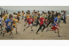 Toronto students take part in the annual cross country meet at Ashbridges Bay. A new coalition is pushing schools to provide an hour of phys...