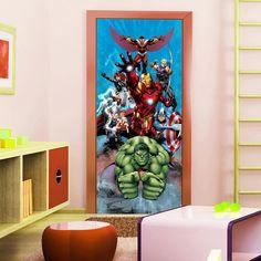 Marvel Avengers Door Poster
