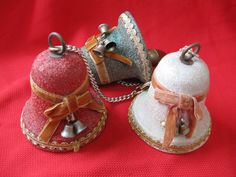 mid century musical bells plays jingle bells by rivertownvintage