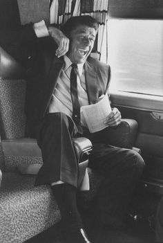 Ronald Reagan cheerfully celebrates victory during California's gubernatorial primary in 1966.