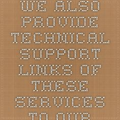 We also provide technical support links of these services to our clients and also provide toll free numbers for urgent enquiry. Clients can also mail us on our official mail id which is mentioned on the profile of our service. We are provided these Support For AOL Password Help Services to our clients in various technical specifications and at market leading prices.