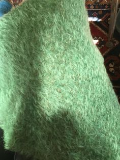 Handdyed steiff Schulte Mohair, yellow green lime by pussman on Etsy https://www.etsy.com/listing/520054775/handdyed-steiff-schulte-mohair-yellow