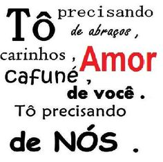 Messages of Love and Affection- Mensagens de Amor e Carinho Messages of Love and Affection - Crazy Love, I Love You, My Love, Portuguese Quotes, Cute Love Gif, Snoopy Love, Love Messages, Quote Posters, Cool Words