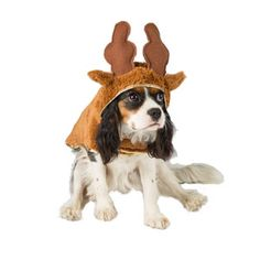 Image for Reindeer Dog Hoodie Medium from Pets At Home