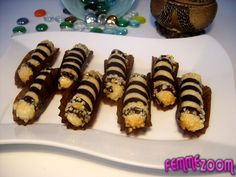 recette Doigts d'amandes au cacao : Gâteau marocain, Cuisine Femme Zoom, Recettes de cuisine ...