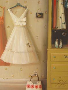 The Silk Dress - Janet Hill