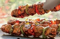Spanish-Style Pork Kabobs | Weber.com