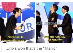 I love how he is so passionate with his faith....but gee how could he not guess the titanic..lol