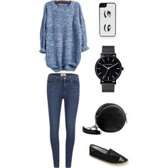 casual like usual by inggar on Polyvore