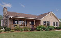 exterior 1 story homes | Sugarloaf 5 Modular Home Floor Plan