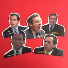 Michael Scott sticker set