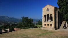 Santa María del Naranco - Santa María del Naranco (848) - Roman Catholic Asturian pre-Romanesque Asturian architecture church - Declared a World Heritage Site by UNESCO in December 1985 - Oviedo - Asturias - Spain