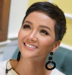Newest Photo curly short hair pixie cuts Style, + 50 super short haircut ideas . - Newest Photo Short Hair Curly Pixie Cuts Style, - Super Short Pixie Cuts, Short Pixie Haircuts, Short Hairstyles For Women, Short Hair Cuts, Straight Hairstyles, Korean Hairstyles, Pixie Bob, Fancy Hairstyles, Hairdos
