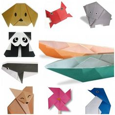 Simple origami instructions that you can make with kids http://veu.sk/index.php/aktuality/1760-navody-na-jednoduche-origami-ktore-si-mozete-vyrobit-s-detmi.html #simple #instructions #make #kids #diy