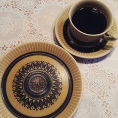 God søndag #norrøna#figgjo#stavangerflint#vintage#kaffe#retro#søndag by gammelt_og_nytt