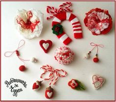 Diy Christmas Gifts, Christmas Ornaments, Holiday Decor, Valentine Crafts, Valentines, Baba Marta, Seasons In The Sun, Diy And Crafts, Crafts For Kids