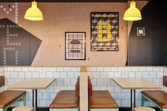 McDonald's Fulham Gardens - Studio Nine Architects Garden Studio, Fulham, Architects, Gardens, Kitchen, Table, Projects, Furniture, Home Decor