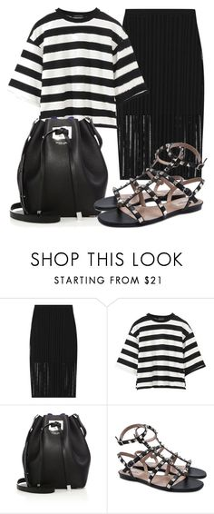 """""""Untitled #4579"""" by beatrizvilar on Polyvore featuring T By Alexander Wang, Michael Kors and Valentino"""