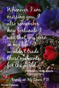I love this! I was blessed beyond measure to have Trish in my life, even if it was just for a short time! Through the death of her beloved husband she showed me what it was to be strong, and she rocked her life!