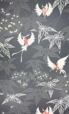 Grove Garden, Papier peint Osborne and Little   Style du japon ...
