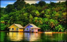 In Panama, they're not called boat houses, they're called boat sanctuaries.