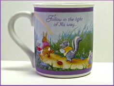 Vintage Hallmark Mug Mates Mug Follow in the by GrammysGoodys, $6.00
