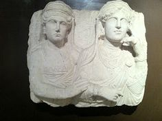 ARCAblog: Istanbul Archaeological Museum: Sculptural Reliefs Portray the Deceased on the 2,000 year old Tombs of Palmyra, Syria