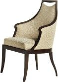Jacques Garcia Malmaison Arm Chair in Fabric 55-241 and finished in Chateau