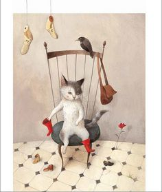 """""""Puss in Boots"""", illustrator Ayyano Imai Publisher Clover Media Group, January 2011 release date~"""