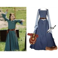 The Lion the Witch and the Wardrobe: Lucy Pevensie Character Inspired Outfits, Disney Inspired Outfits, Disney Outfits, Narnia Lucy, Lucy Costume, Narnia Costumes, Robin Hood, Narnia Movies, Lucy Pevensie