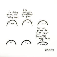 I'm Doing OK by Beth Evans