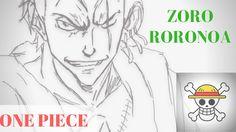 ONE PIECE: ZORO | SPEED DRAWING | ANIME