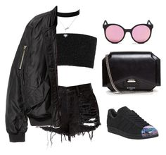 """""""Untitled #241"""" by gr20gk on Polyvore featuring LULUS, Calvin Klein Collection, adidas, Givenchy and Spektre"""